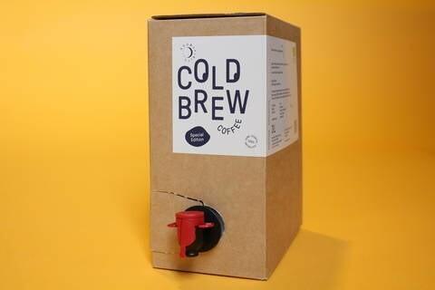 LOGO_Cold Brew Coffee PURE BLACK Peru 3l Bag-in-Box