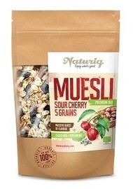 LOGO_Organic Sour Cherry & 5 Grains Muesli