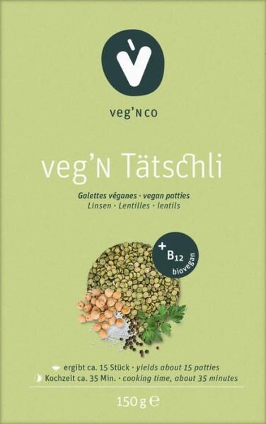 LOGO_veg'N Tätschli (BIO) mit Vitamin B12