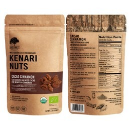 LOGO_East Forest Kenari Nuts - Cacao Cinnamon