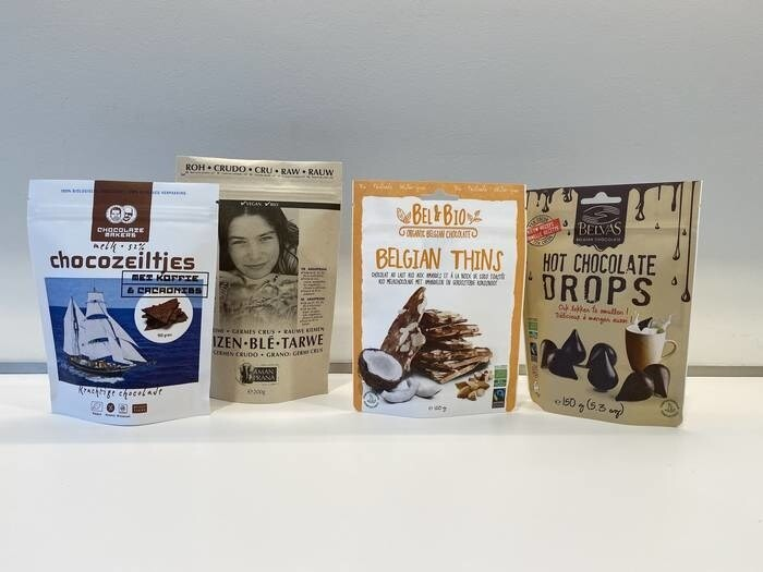 LOGO_Certified biobased / ok compostable doypacks (stand-up pouches)