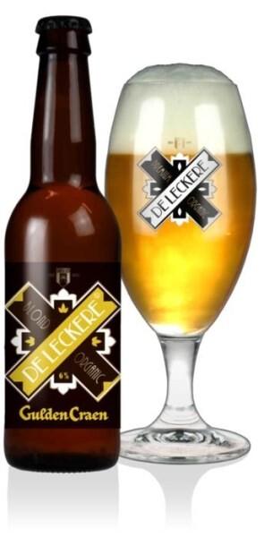 LOGO_De Leckere Gulden Craen 33 cl (6% blond beer, longneck)