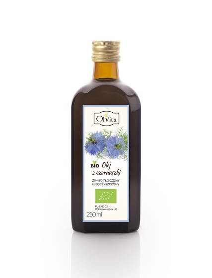 LOGO_BIO Black cumin seed oil cold-pressed: 100ml, 250ml