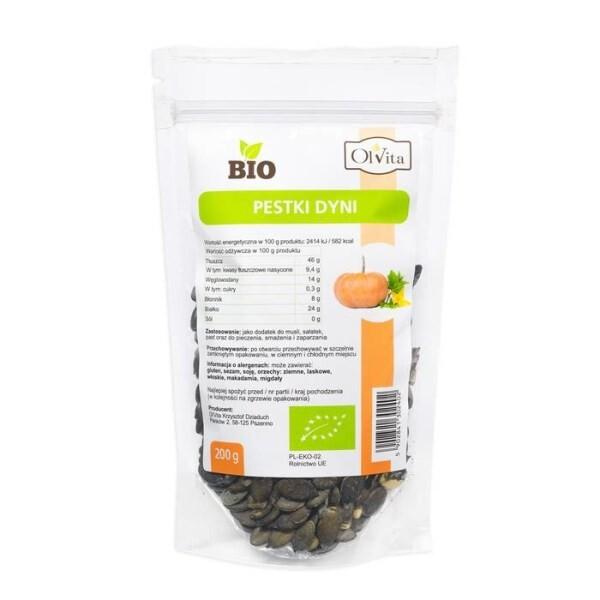 LOGO_BIO pumpkin seeds : 200 g