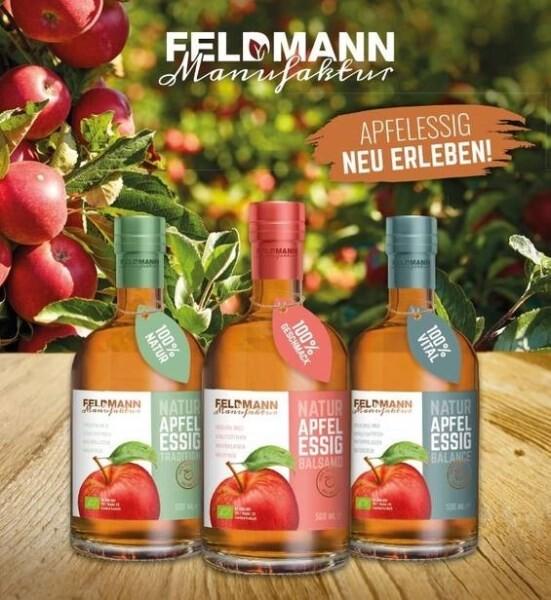 LOGO_Feldmann Manufaktur Natur-Apfelessig Balance