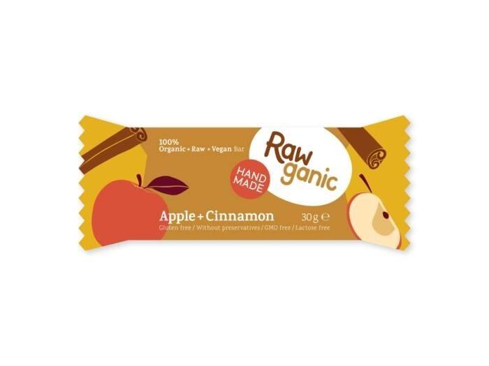 LOGO_Rawganic Apple + Cinnamon