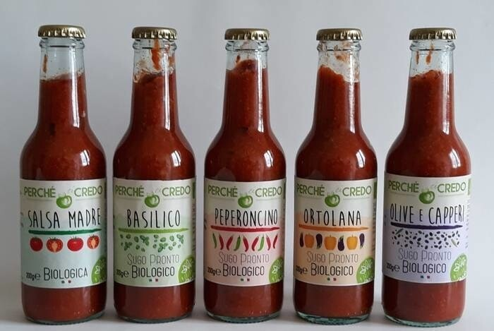 LOGO_Organic Tomato sauces: Salsa Madre + 4 flavors, tasty and ready to use