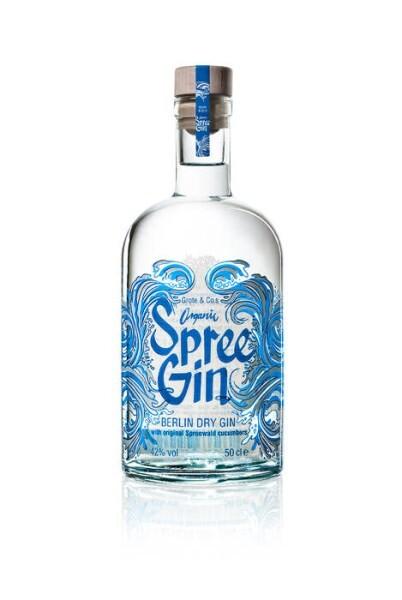 LOGO_SpreeGin Flasche 42Vol