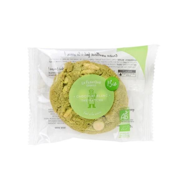 LOGO_White Chocolate & Tea Matcha Cookie