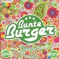 "LOGO_""Flower Power"" Patty from Bunte Burger - VEGAN & HALAL,WITHOUT GLUTEN, SOY, PALM OIL"