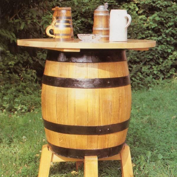 LOGO_Fasstisch aus Bierfass 100 l