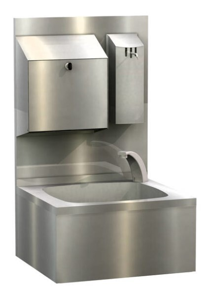 LOGO_WALDNER Edelstahl-Handwaschbecken