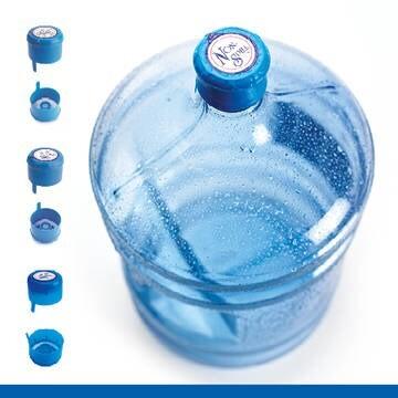 LOGO_5 Gallon K-Seal-Verschluss. Die Verschlusstechnik der nächsten Generation für den Markt für abgefülltes Wasser