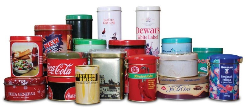 LOGO_Decorative cans, cans for food and tins/cans for chemical industry