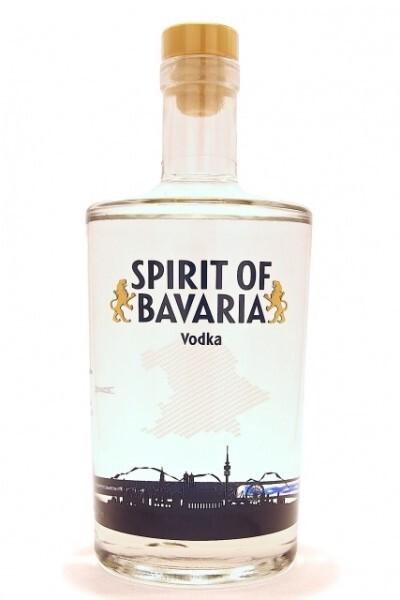 """LOGO_9000 ml Vodka Bottle """"Spirit of Bavaria"""""""