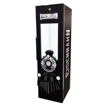 LOGO_Eisenbahn - Vertical Single Door Cooler with Cladding