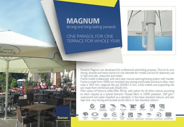 LOGO_MAGNUM  - strong and long – lasting parasols