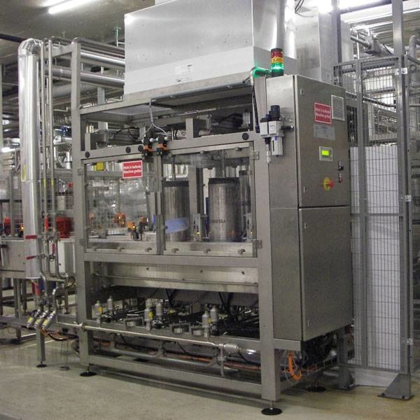 LOGO_cleaning and filling machines of type VARIO RF