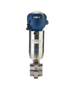 LOGO_ZVF Pneumatic butterfly valve WAFER fitting