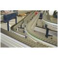 LOGO_Förderanlagen mit Scharnier- und Plattenbandketen / Mattenkettenförderer