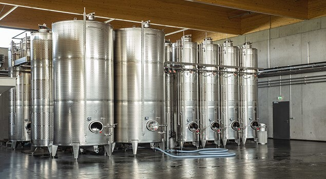 LOGO_Stainless Steel Tanks for viticulture