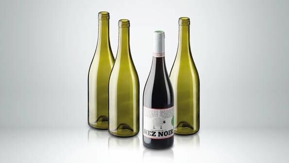 LOGO_Burgundy Wine Bottle: ENVIRONMENTALLY FRIENDLY - Total sustainability
