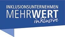 """LOGO_Aufklärungskampagne """"Inklusionsunternehmen. MehrWert inklusive"""""""