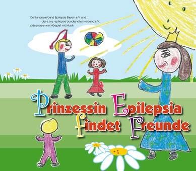 """LOGO_Kinder-CD """"Prinzessin Epilepsia findet Freunde"""""""