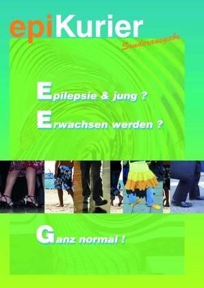 """LOGO_epiKurier-Sonderausgabe """"Epilepsie & jung? Erwachsen werden? Ganz normal!"""""""