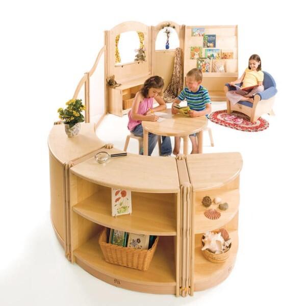 LOGO_Roomscapes, das flexible Möbelsystem für die Kita