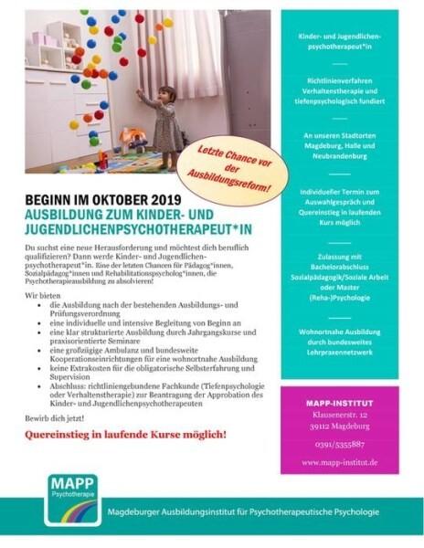 LOGO_Ausbildung zum*r Kinder- und Jugendlichenpsychotherapeut*in