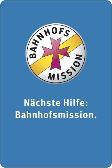 LOGO_Die Bahnhofsmissionen in Bayern Niedrigschwellige soziale Anlaufstelle an den Bahnhöfen