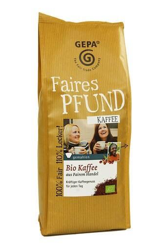 LOGO_GEPA Faires Pfund Bio Kaffee gemahlen