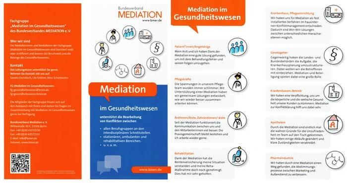 LOGO_Flyer Mediation im Gesundheitswesen