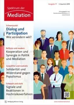 """LOGO_Zeitschrift """"Spektrum der Mediation"""""""