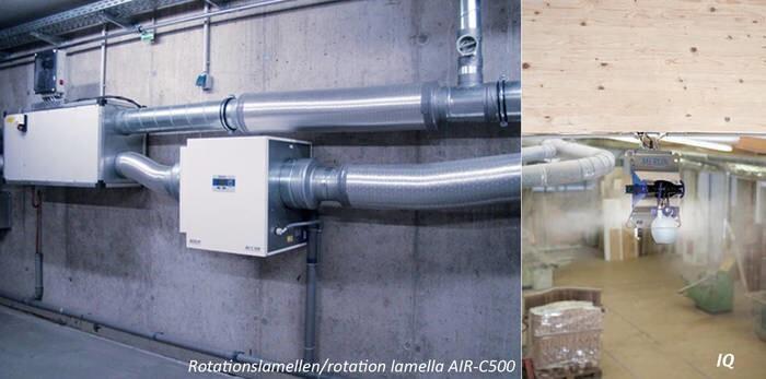 LOGO_Rotation lamella air humidification + IQ Compressed air humidifier