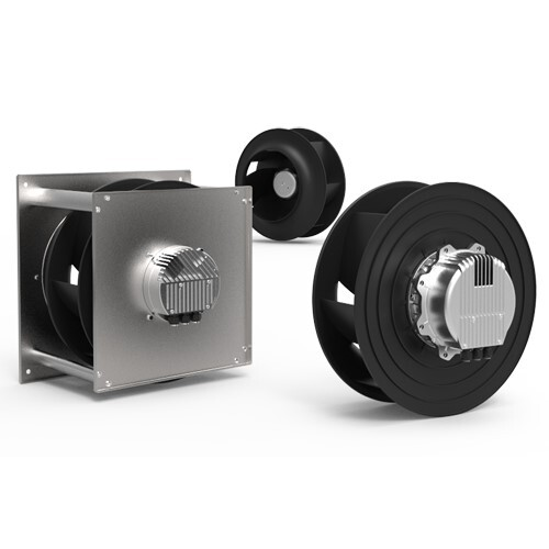 """LOGO_Radialventilatoren mit freilaufendem Rad – E-Serie """"REVOLUTION"""""""