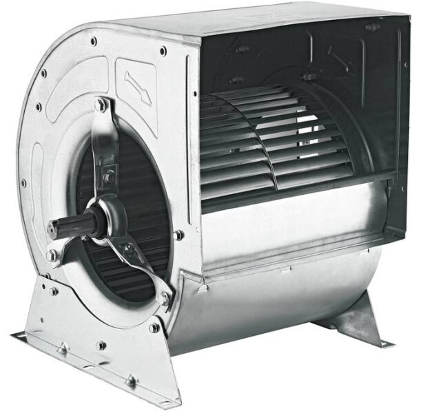LOGO_BRV – Centrifugal Fans : BRV (double inlet fans) can be manufactured for the flow rates between 3500 and 25000 m3/h. Max. efficiency with low energy.
