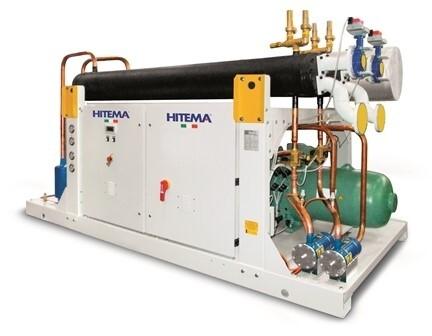 LOGO_Wassergekühlter Kondensator in kompakter Bauweise mit Kälteleistungen von 3,0 kW