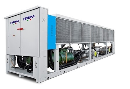 LOGO_Big Evolution Chillers high efficiency and quiet operating up to 1,3 MW with free cooling