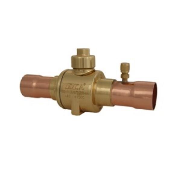 LOGO_CO² Ball Valves (120 bar) Brass Pipe