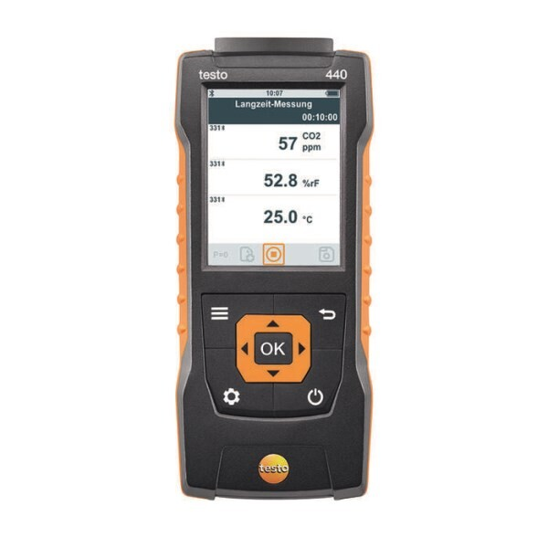 LOGO_testo 440 - Air velocity and IAQ measuring instrument
