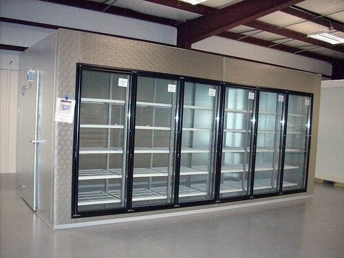 LOGO_Electric heating glass door for commercial display cooler and freezer
