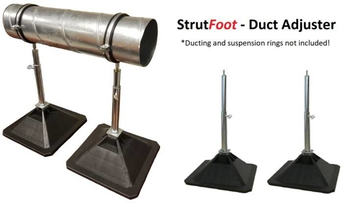 LOGO_StrutFoot - Duct Adjuster