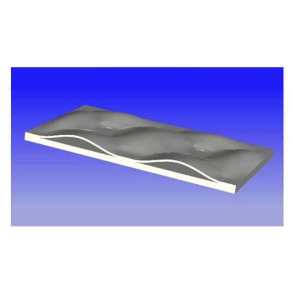 LOGO_Einseitig profilierte Pillow-Plates