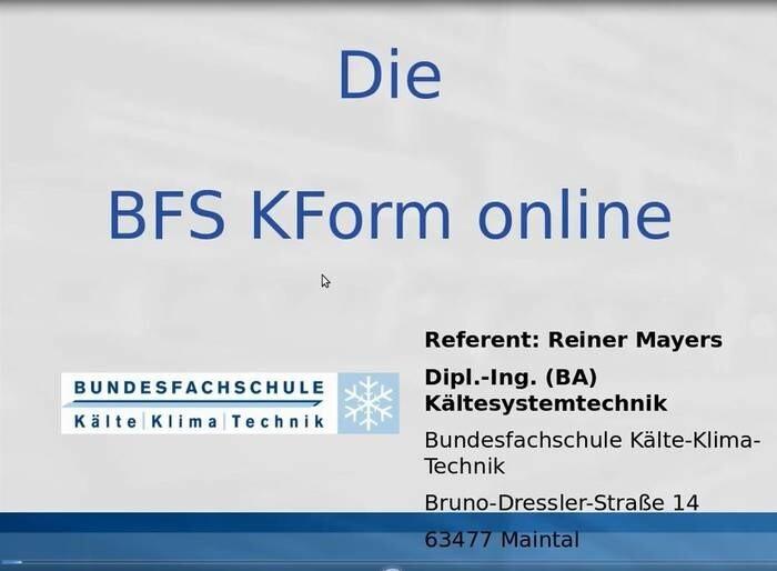 LOGO_BFS KForm online