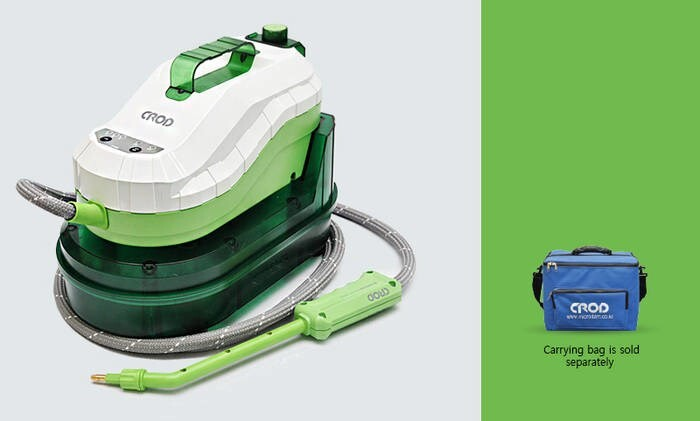 LOGO_CROD Green Steam Cleaner