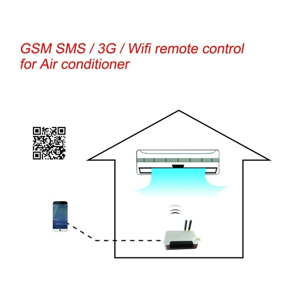 LOGO_3G/Wifi Remote controller for Air conditioner