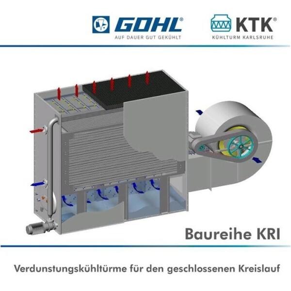 LOGO_Cooling tower series  KRI (KTK KÜHLTURM KARLSRUHE)