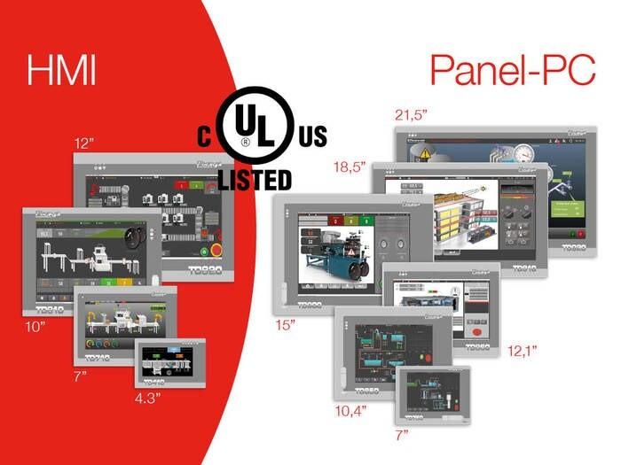 LOGO_Touchscreen HMI - Panel PC integrating Soft-PLC